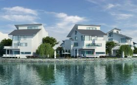 Dự án Khu nhà ở cao cấp Ngôi nhà mới tại thị trấn Quốc Oai