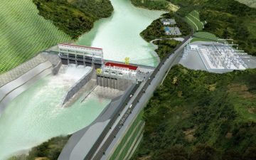 Thủy điện Nậm Đích xã Khun Há, huyện Tam Đường, tỉnh Lai Châu