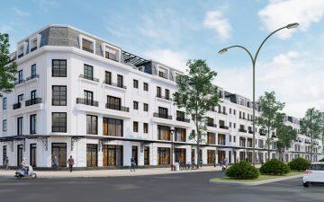Khu đô thị đại lộ Hòa Bình kéo dài tại phường Hải Hòa, thành phố Móng Cái, tỉnh Quảng Ninh